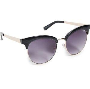 """Quay Australia Sunglasses """"Cherry"""" Rose Gold Frame"""